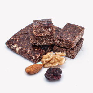 Sour Cherry, Nuts, Carob – Oat Bar