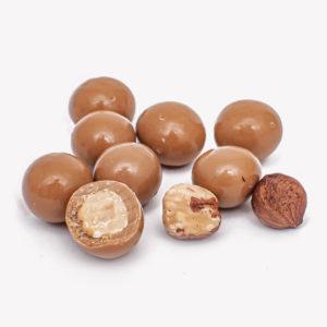 Milk Chocolate Amber with Hazelnut