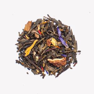 Green Tea with Cinnamon and Orange